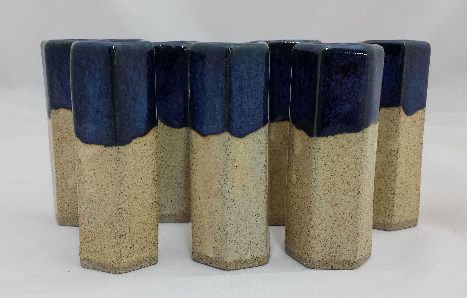 Stoneware shotglasses