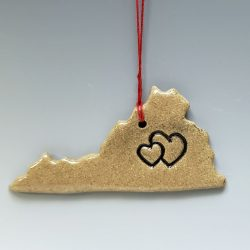 Virginia is for lovers ornament