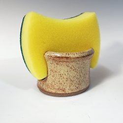 sponge holder in eggshell